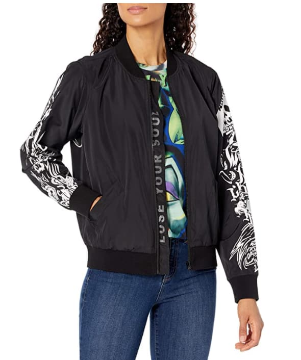 Disney Adult Unisex Villains X Heidi Klum Cast Your Curse Bomber Jacket XL $39.06, L $39.38 + Free Shipping w/ Prime or on $25+