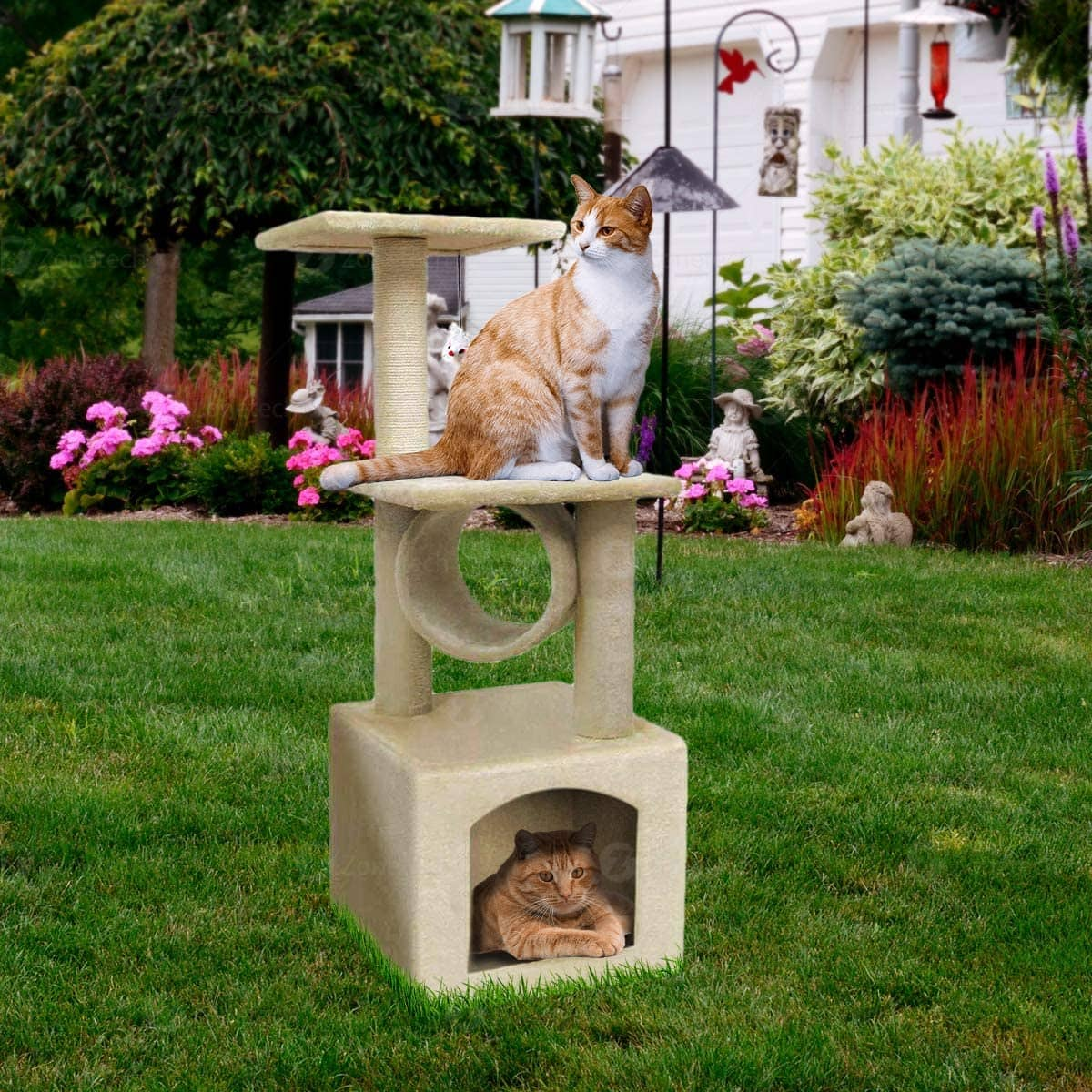"36"" Zone Tech Pet Cat Tower Tree, $28 + Free Shipping w/ Prime"