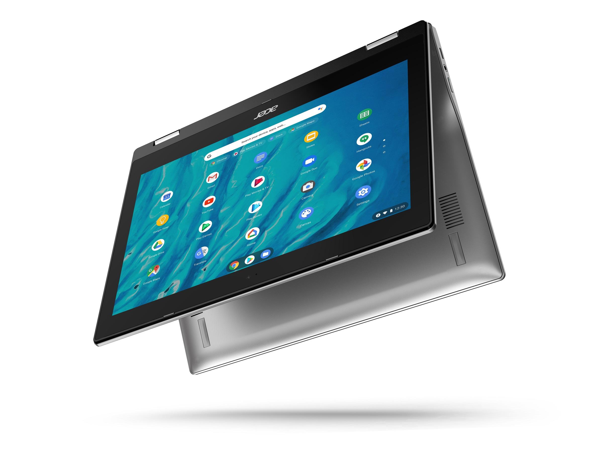 "YMMV Wal-Mart In-Store $54: Acer Chromebook Spin 311 CP311-3H-K3WL Convertible Laptop, MediaTek MT8183C Octa-Core Processor, 11.6"" HD Touchscreen, 4GB LPDDR4X, 32GB eMMC $54"