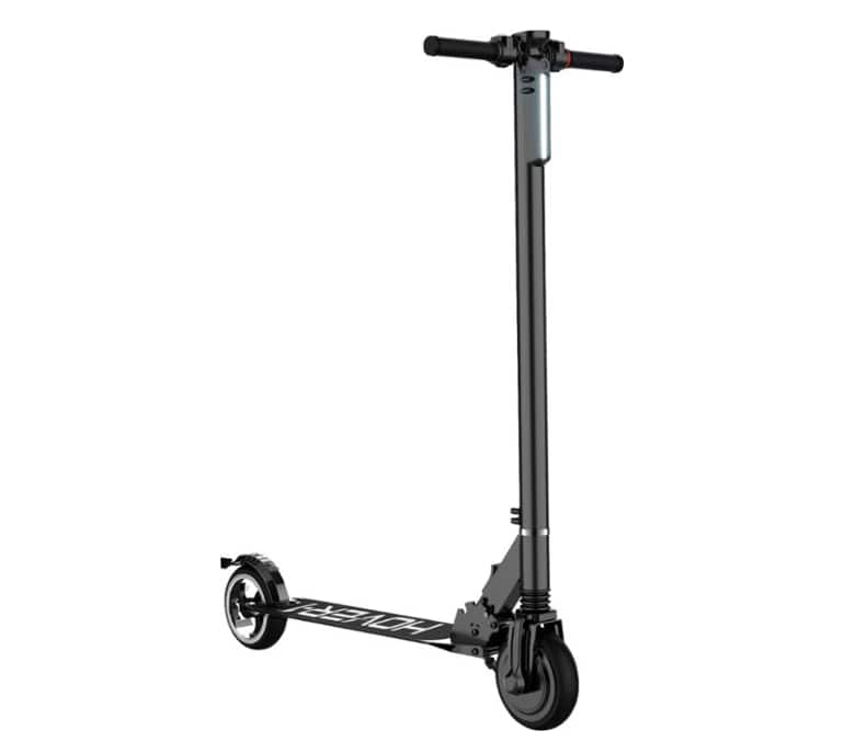 Hover-1 - RALLY Foldable Electric Scooter w/7 mi Max Operating Range & 12 mph Max Speed - Black for $169.99 Free Shipping