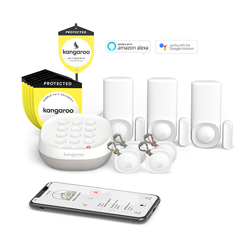 Kangaroo 4-Piece Home Security System for $89.00 at Lowe's