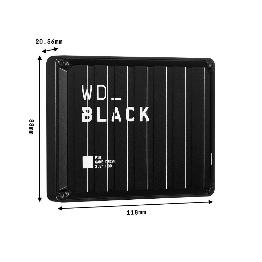 WD Black P10 5TB External Game Drive $120