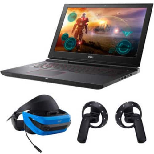 """15.6"""" IInspiron 15 7000 Series Gaming Notebook (Dell 7577 w/GTX1060 ) with Acer Mixed Reality Headset $1049"""