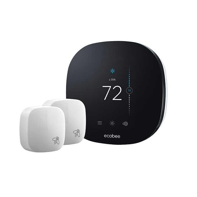 Ecobee 3 Lite with 2 sensors Costco $169