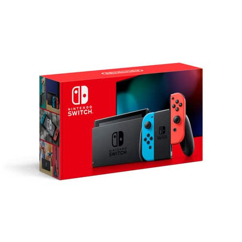 Nintendo Switch Console with Neon Blue & Red Joy-Con. $299.99