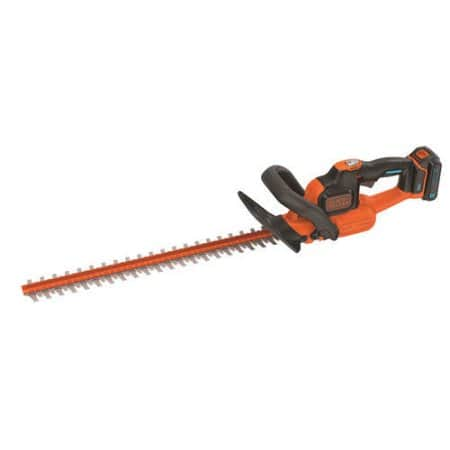 BLACK+DECKER LHT321BT Smartech 20V Max Lithium Power Cut 22in Hedge Trimmer - $55.99 + Free shipping