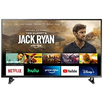 """Toshinb 43"""" inch 4K TV at $249.99 + free shipping."""