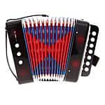 7 Keys 2 Bass Accordion Kids Children Music Instrument Toy Christmas Gift $24.30 + fs @eachbuyer.com