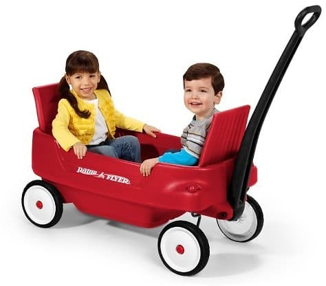 Kid's Pathfinder Wagon W Molded Body and Folding Seats By Radio Flyer $88.00 + fs