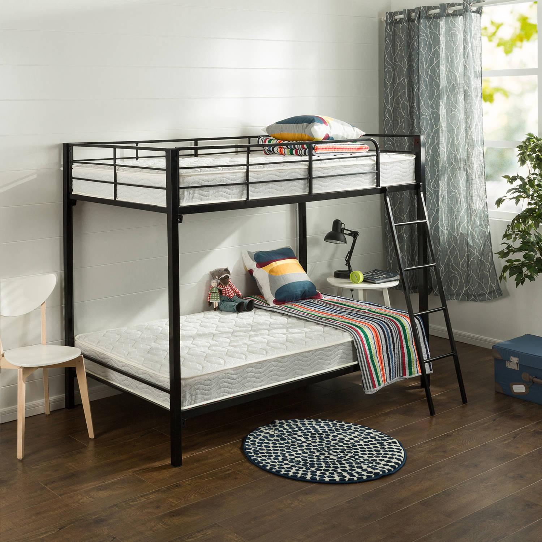 "Slumber 1 Comfort 6"" Twin Pack Bunk Bed Spring Mattress (Mattresses Only) $115.00  + fs"