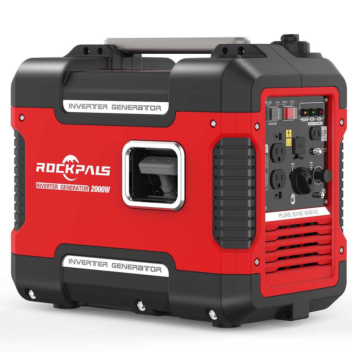 Rockpals 2000Watt Portable Generator Super Quiet Inverter Generator $369.99