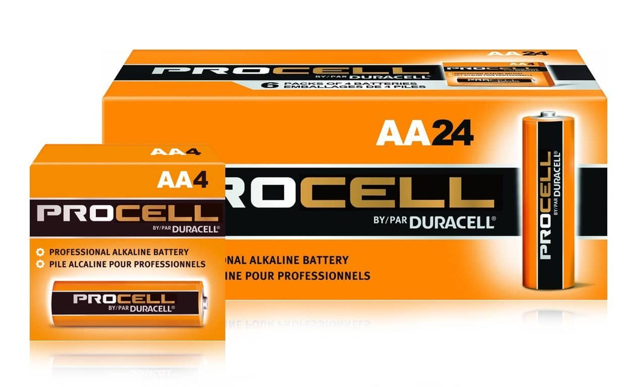 Duracell Procell AA 24 Pack and Free Shipping with Prime $8.95
