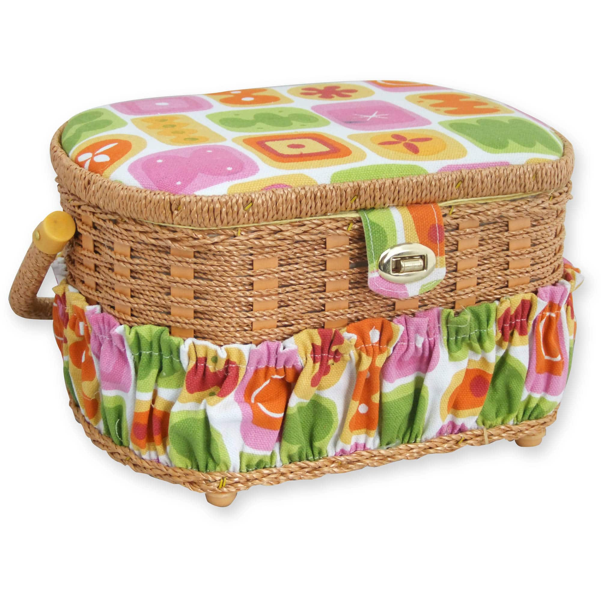 Michley Sewing Basket with 41-Piece Sewing Kit $9.99 @ Walmart.com