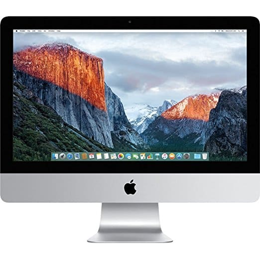 "Apple ME087LL/A iMac 21.5"" AIO Desktop, Intel Core i5-4570S Quad-Core 2.9GHz, NVIDIA GT 750M 1GB, 1TB SATA, macOS 10.8 Mountain Lion (Certified Refurbished) $800"