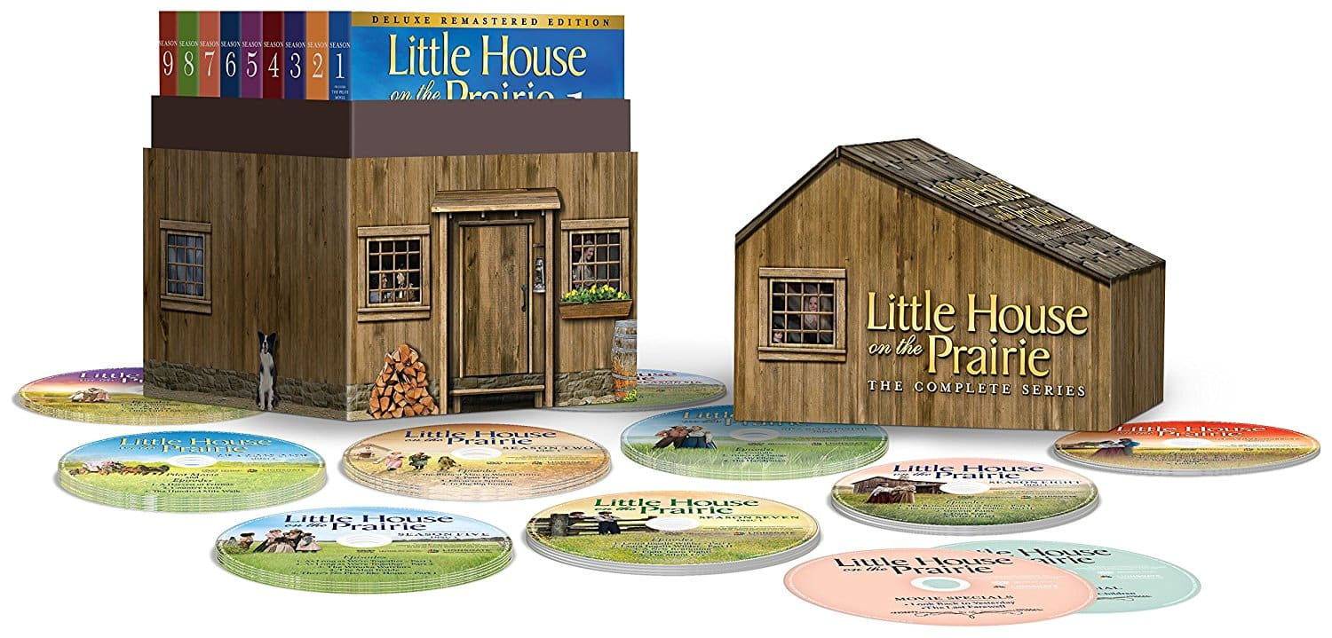 Little House on the Prairie: The Complete Series Deluxe Remastered Edition (DVD) $56.99
