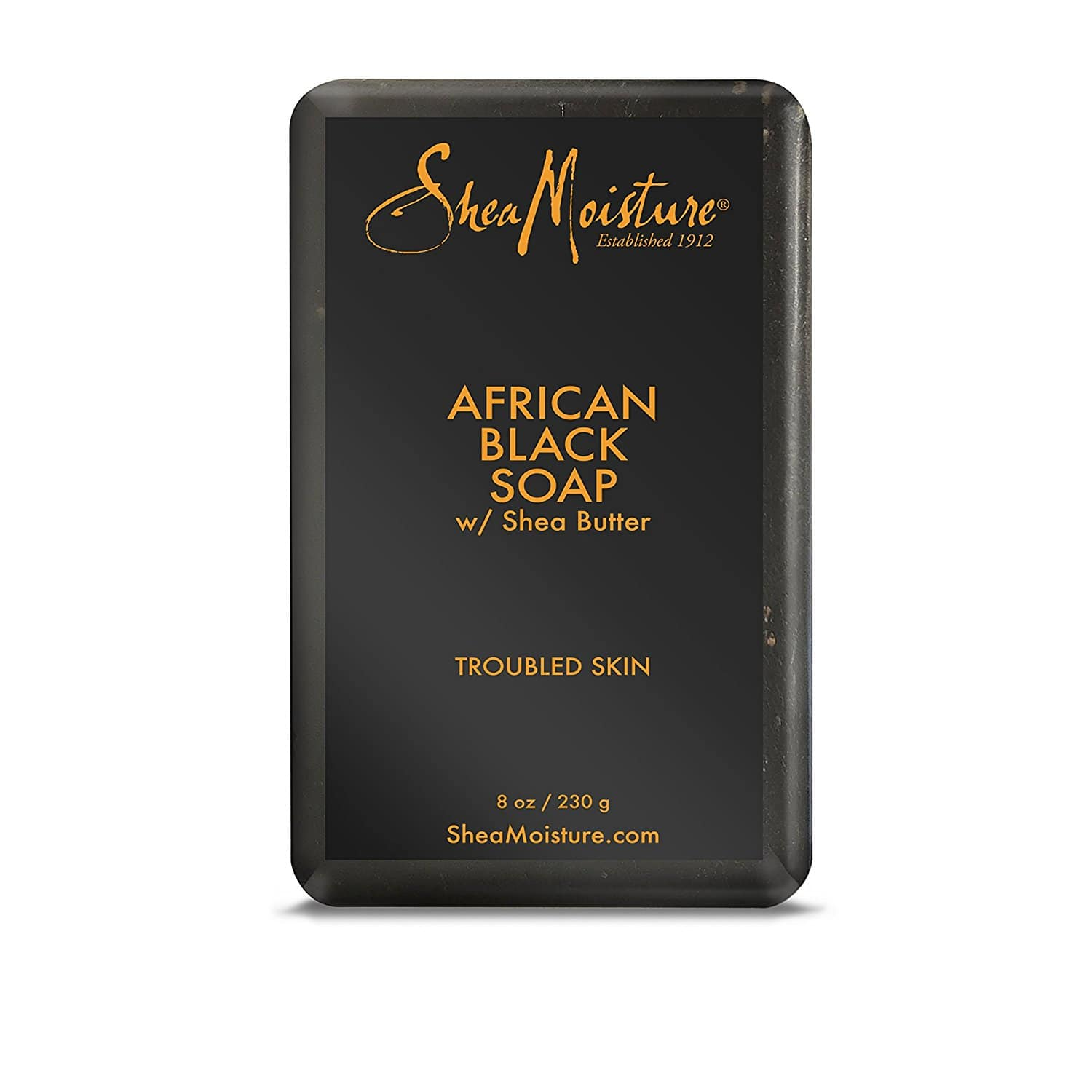 Shea Moisture African Black Soap With Shea Butter 8 oz (add-on item) $3.49