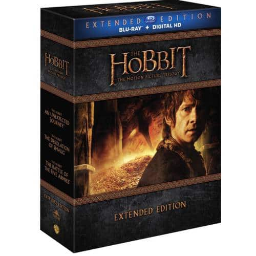 The Hobbit: The Motion Picture Trilogy (Blu-ray) $39.99