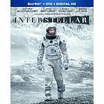 Interstellar (Bluray/DVD/Digital) $10 @ Amazon