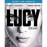 Lucy Bluray/DVD/Digital $8 @ Amazon