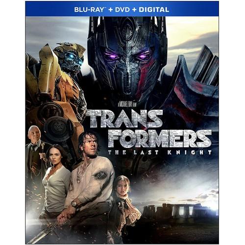 Transformers: The Last Knight (Bluray + DVD + Digital) $7.65 @ Amazon