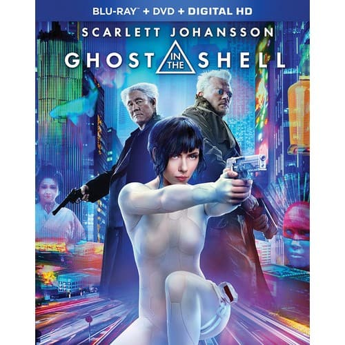 Ghost in the Shell 2017 (Bluray + DVD + Digital) $8.50 @ Amazon