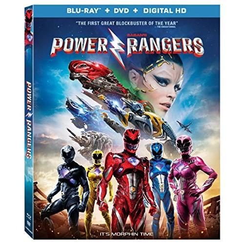 Power Rangers 2017 (Bluray + DVD + Digital) $8.50 @ Amazon