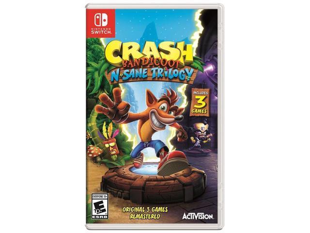 Crash Bandicoot N. Sane Trilogy (Switch) $28 + shipping @ Newegg