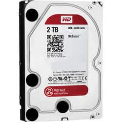 "WD Red 5400 SATA III 3.5"" Internal NAS HDD (2TB/4TB/6TB/8TB) $69.99"