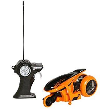 Maisto R/C Cyklone 360 Radio Control Motorcycle Bike, Orange, Frustration Free Packaging $7.05