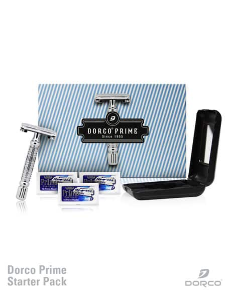 Dorco Prime Double Edge Razor Starter Set - $12 with free shipping. (Sale $15 + 20% off Code). Max 2 per purchase.