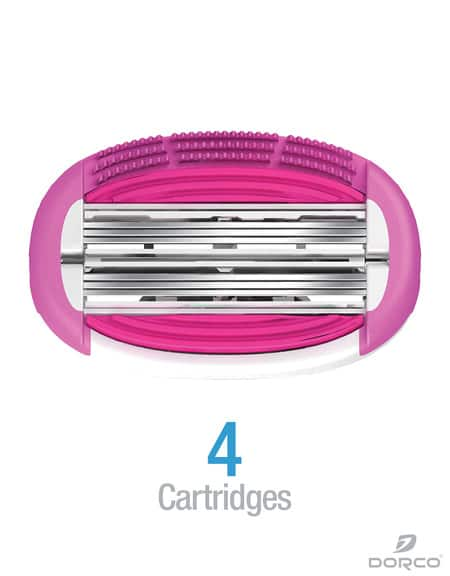Dorco Shai Soft Touch Razor Refill Cartridges - 4 for $3.86 Free Shipping