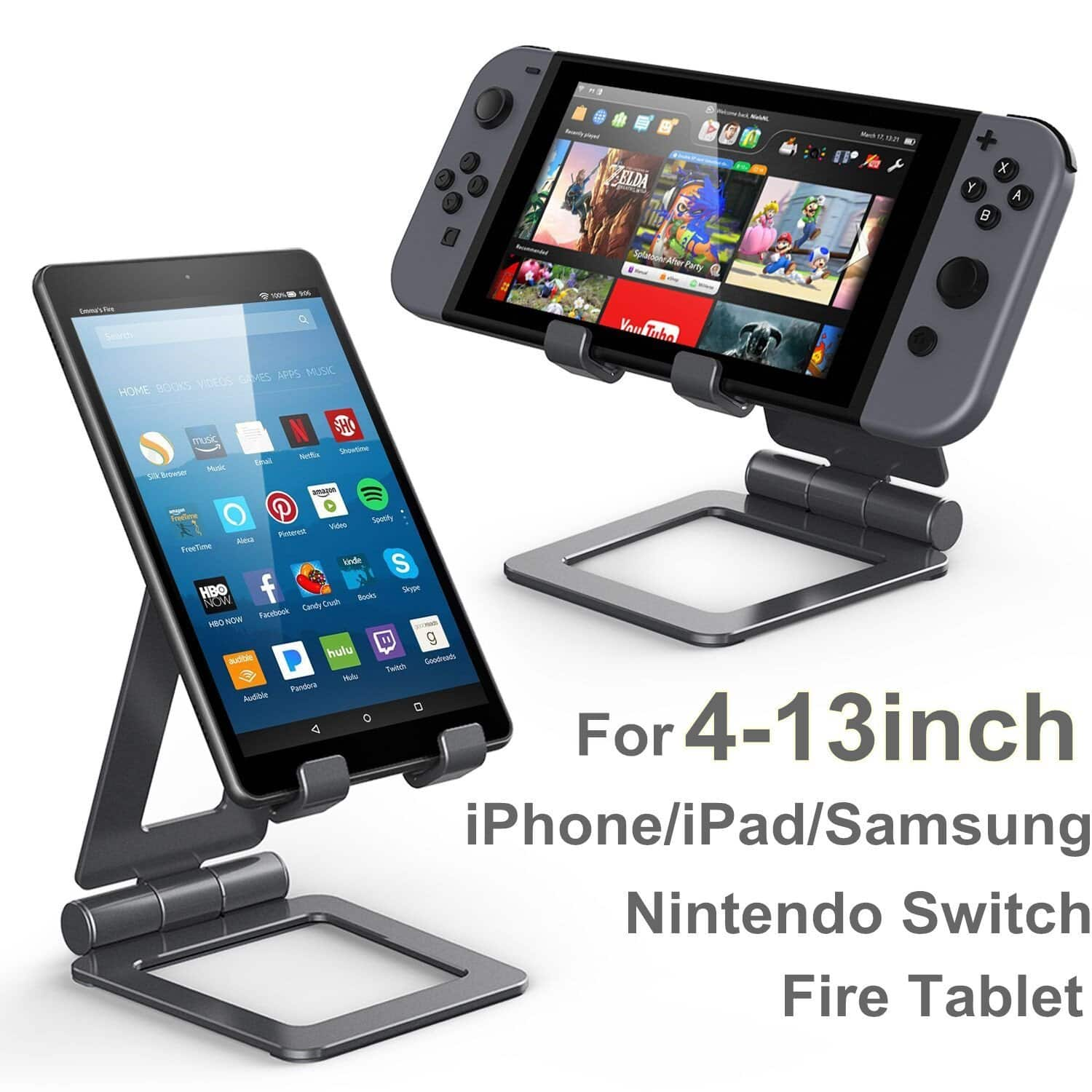 Tablet/Phone Stand - $8.99 @ Amazon. Prime Eligible for FREE Shipping