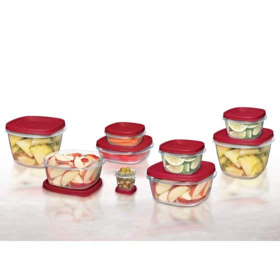 Rubbermaid Easy Find Lids Food Storage Container Set, 24-Piece $10 @ Walmart - Free Store Pickup