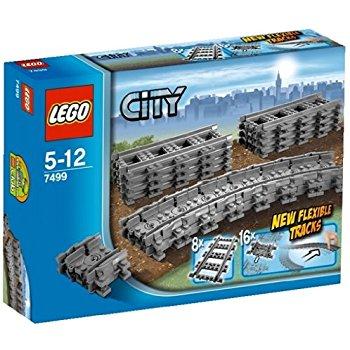 LEGO City Flexible Tracks 7499 Train Toy Accessory $10.62 @ Amazon: Prime Eligible