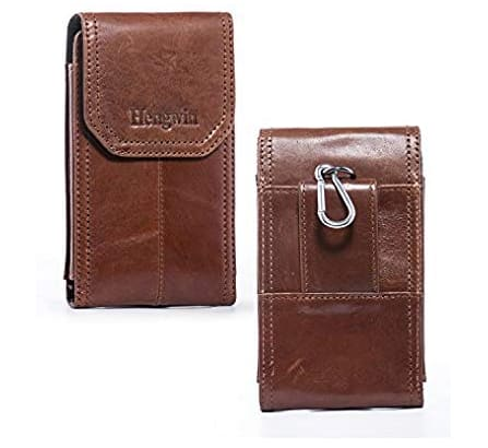 Premium Leather Smartphone Carry Case - $8.80 @ Amazon