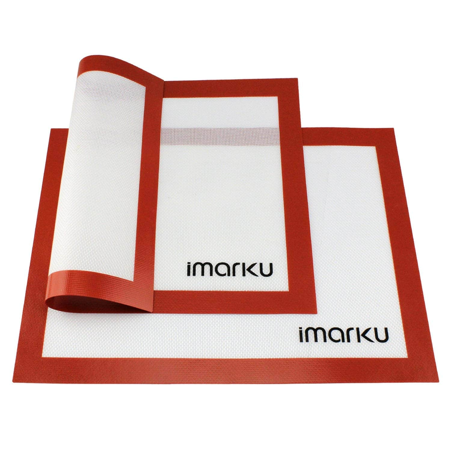 iMarku Silicone Baking Mat Set of 2 ,Non-Stick,Heat Resistant, and
