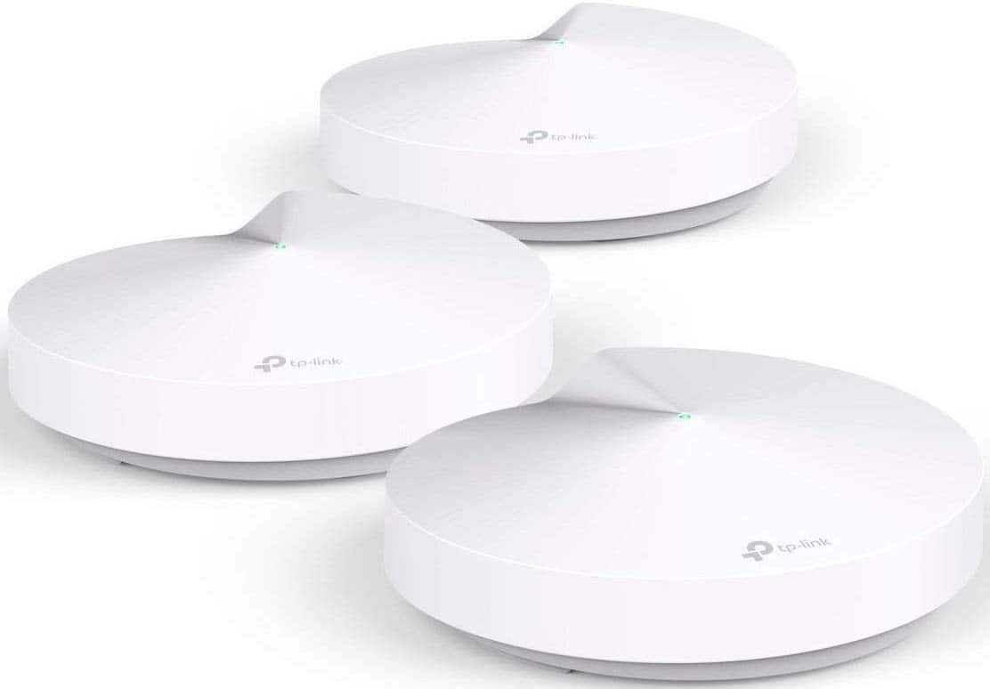 TP-Link Deco Whole Home Mesh WiFi System – M5, (3 Units) - $149.99 @ Amazon