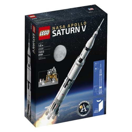 LEGO Ideas NASA Apollo Saturn V (21309) Free Shipping $119.99