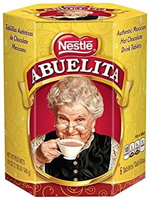 Nestle Mexican Chocolate Abuelita Drink Mix, 6 Tabs in 19 Ounce Package $2.68