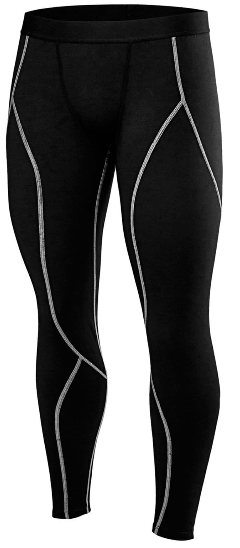 Men's Ultra Soft Fleece Comperssion Performance Long Johns Top Bottom Thermal Underwear Baselayer $13.29 AC FS w/Amazon Prime