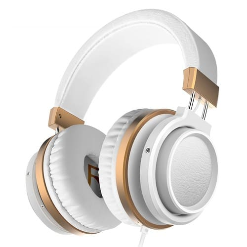 Over Ear Bass Headphones with Microphone and Volume Control $9.94 AC @ Amazon