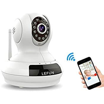 720P Wireless Security Camera with Night Vision Motion Detection and Remote Viewing $35.99 +FS