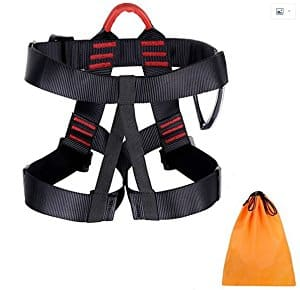 Climbing Harness Belt for Rock Climbing Rappelling Equipment $16.09 @amazon