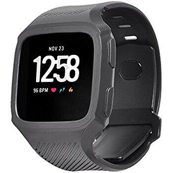 Fitbit Versa Replacement Band, TPU Water-resistant Sports Strap with Pin-and-tuck Closure $6.99 AC