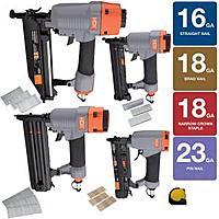Home Depot Deal: HDX Nail Gun 9-Piece Pneumatic Set - $99