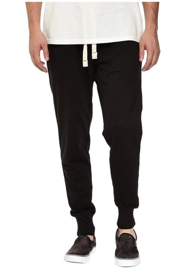 Mrignt Mens Casual Cotton Elastic Waist Jogging Pants:$7.99-$12.49
