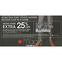 Macys Deal: MACYS.COM .. Men's PRIVATE SALE & CLEARANCE .. Save 50-90% .. Get EXTRA 25% OFF