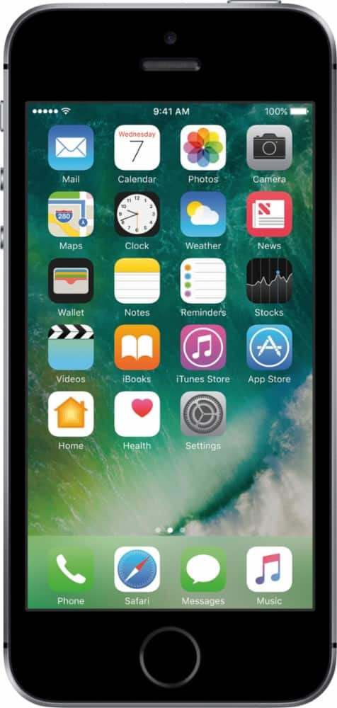 32GB Apple iPhone SE AT&T Smartphone (Space Gray) $200 + Free In-Store Pickup
