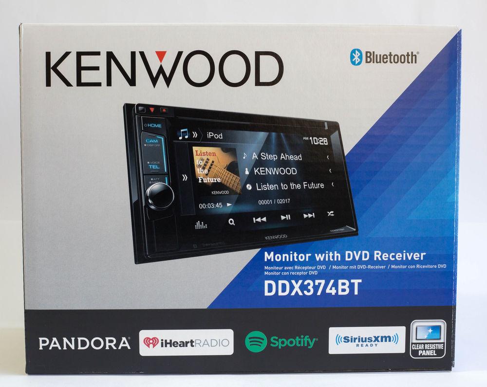 """Kenwood DDX374BT 6.2"""" Touchscreen Built-in Bluetooth CD/DVD/DM Receiver NEW - $192.36"""