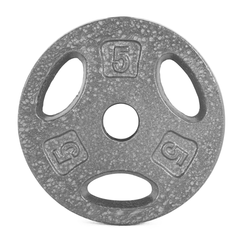 CAP Barbell standard weight plates: 2.5 lb ($2.46)  & 5 lb ($5.99) at Walmart